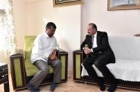 ABDULLAH ÖZER - Başkan Akgül'den 15 Temmuz Gazilerine Ziyaret