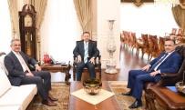HÜSEYIN AKSOY - Başkan Köşker Vali Aksoy'u Ziyaret Etti
