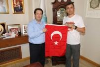 ŞEYH EDEBALI - Başkan Yazgı'ya Bursa'dan Ziyaret