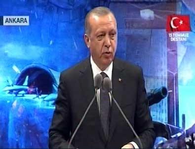 Cumhurbaşkanı Erdoğan açıkladı: İçeri girerken bir haber aldım, Çukurca'da...
