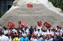 İBRAHIM BURKAY - Demokrasi Kahramanlarının İsmi 107 Tonluk Anıtla Yaşatılıyor