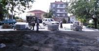 YOĞUN MESAİ - Denizli Mahallesinde Üstyapı Çalışmaları Başladı