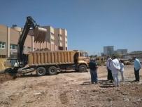 SÜLEYMAN ÖZDEMIR - Devlet Hastanesi Ek Bina Yapımına Başlandı