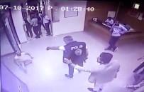 SİVİL POLİS - Devlet Hastanesinde Dehşet Anları Kameraya Yansıdı
