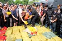 ENDONEZYA - Endonezya'da Bin Kilogram Uyuşturucu Ele Geçirildi