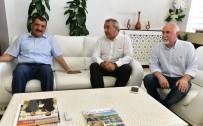 ERMENILER - HAYDER Başkanı Çizmeci'den Gürkan'a Ziyaret
