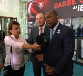 KADIR TOPBAŞ - Houston Belediye Başkanı Sylvester Turner'den Başkan Kadir Topbaş'a Ziyaret