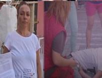 DAYAK - İzmir'de parkta hamile kadına saldırı