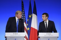 PARIS - Macron Ve Trump'tan Ortak Basın Toplantısı