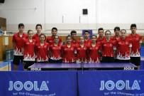 GENÇ KIZ - Masa Tenisi Genç Milli Takımı Portekiz'e Gitti
