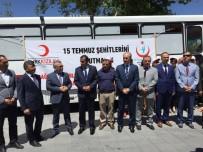 YıLMAZ ŞIMŞEK - Niğde'de 15 Temmuz Şehitlerini Anma Demokrasi Ve Milli Birlik Günü Kan Bağış Kampanyası Başladı