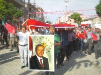 BISMILLAH - Özalp İlçesinde '15 Temmuz' Yürüyüşü