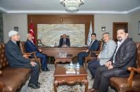 MURAT ZORLUOĞLU - Saray Heyetinden Vali Zorluoğlu'na Ziyaret