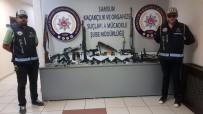 POMPALI TÜFEK - Suç Örgütü Operasyonunda Cephanelik Çıktı Açıklaması 28 Gözaltı