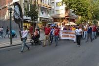 ÇORLU BELEDİYESİ - Taraftarlardan Belediyeye Siyah Çelenk