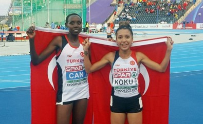 10 bin metrede Yasemin şampiyon, Büşra üçüncü