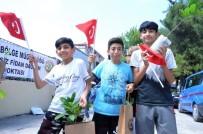 HAKAN ÖZARSLAN - 15 Temmuz Şehitleri Ve Gazileri Anısına Fidan Dağıttılar