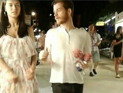 Adriana Lima ve Türk aşkı Bodrum sokaklarında el ele