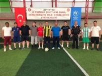 FERIT KARABULUT - Altıntaş'ta 15 Temmuz Kahramanları İçin Halı Saha Maçı