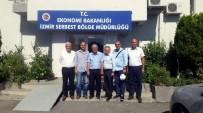 SERBEST BÖLGE - AYSO Heyeti İzmir Serbest Bölgeyi Ziyaret Etti
