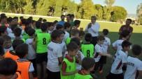 NAZİLLİ BELEDİYESPOR - Başkan Alıcık, Yaz Okulu Futbol Kursu Öğrencilerini İzledi