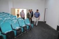 Başkan Şirin, MABEM Konferans Salonu'nu İnceledi