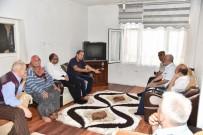 AYHAN DURMUŞ - Başkan Üzülmez'den 15 Temmuz Gazilerine Ziyaret