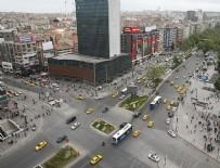 KIZILAY MEYDANI - Ankara'da 15 Temmuz'da bazı yollar kapatılacak