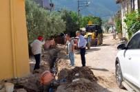 SENTETIK - Bayırköy'de Alt Yapı Çalışmaları Devam Ediyor