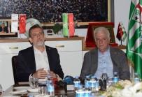 İBRAHIM BURKAY - BTSO'dan Bursaspor'a 20 Bin Kombine Desteği