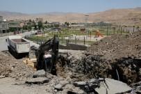 BAĞLAMA - Cizre Belediyesi Kanalizasyon Ana Hatlarının Tamamını Yeniliyor