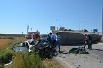 Çorum'da Otomobil Ve Tır Çarpıştı Açıklaması 3 Ölü, 2 Yaralı