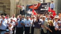 ULU CAMİİ - Cumhurbaşkanı Erdoğan'a Teslim Edilecek 2 Türk Bayrağı Kütahya'dan Yola Çıktı