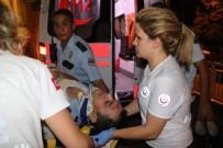 SÜLEYMAN DEMİREL - 'Dur' İhtarına Uymayan Sürücü, Uygulama Noktasında Polise Çarptı