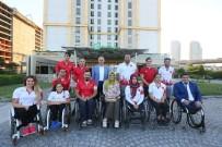 BAĞCıLAR BELEDIYESI - Engelli Sporcular Avrupa'da Türkiye'yi Temsil Edecek