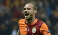 WESLEY SNEIJDER - Galatasaraylı Taraftarlardan Sneijder Protestosu