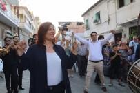 BELEDİYE MECLİS ÜYESİ - Genç Çifte Sürpriz Yapan Başkan Çerçioğlu Zeybek Oynadı