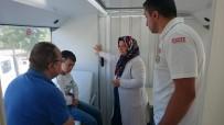 BIYOKIMYA - Giresun Belediyesi Gezici Sağlık Otobüsü Hizmet Vermeye Devam Ediyor