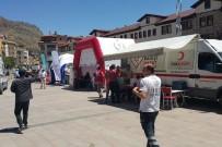 Gümüşhane'de Sağlık Kurumlarından 15 Temmuz İçin Kan Bağışı Kampanyası