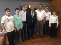 HALIL ELDEMIR - Hafızlık Talebelerinden Milletvekili Eldemir'e Ziyaret