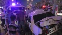 İPEKYOLU - Kamyon Trafikteki Araçların Arasına Daldı Açıklaması 4 Yaralı