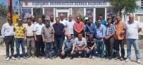 MEHMET KARAHAN - Mermerciler Derneği Başkanı Sönmez Güven Tazeledi