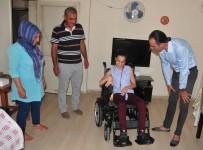 AKÜLÜ SANDALYE - Mersinli Ceren Akülü Sandalyesine Kavuştu