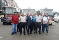 ŞIRINEVLER - Minibüsçüler 15 Temmuz'da Vatandaşları Bedava Taşıyacak