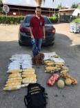 İNCIRLIK - Polis Ekipleri Tamirci Gibi Çalışıp Otomobilin Zulasından 27 Kilo Esrar Çıkardı