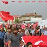 ÖĞRETMENLER - Saray İlçesinde '15 Temmuz' Yürüyüşü