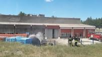 ASKERİ HASTANE - Sivas'ta Fuel-Oil Tankerleri Yandı