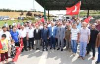 ORHANLı - Tuzlalı Demokrasi Şehitleri Ve Gaziler Orhanlı Gişeleri'nde Anıldı