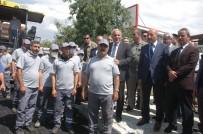 KALDIRIM İŞGALİ - Van'da 1,1 Milyon TL'lik Yol Çalışması