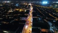 ESENLER BELEDİYESİ - 2016 Metrelik Türk Bayrağıyla Yürüdüler